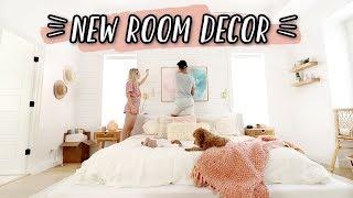 NEW BEDROOM MAKEOVER + ROOM DECOR!!