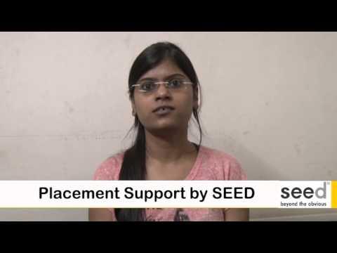 Oracle 11g Developer Pranita is happy to get dream job