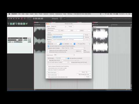 How to burn audio cd in Reaper.