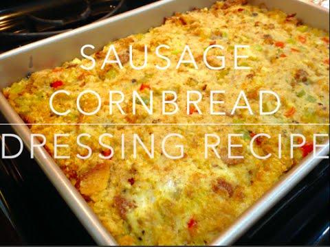 Sausage Cornbread Dressing Recipe - Thanksgiving
