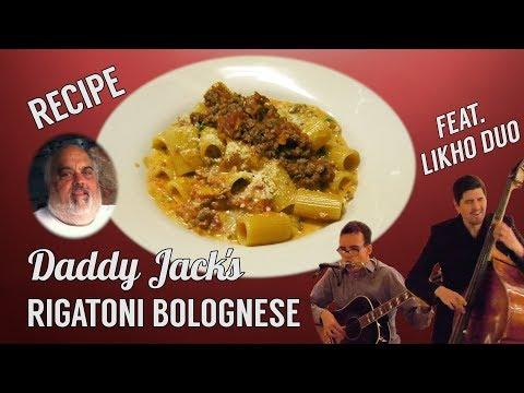 Rigatoni Bolognese & Likho Duo - Daddy Jack's