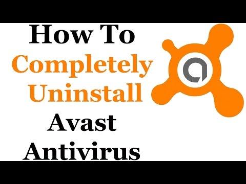 How To Uninstall Avast Antivirus