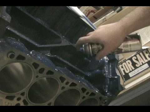 Painting The Ford 5.4l