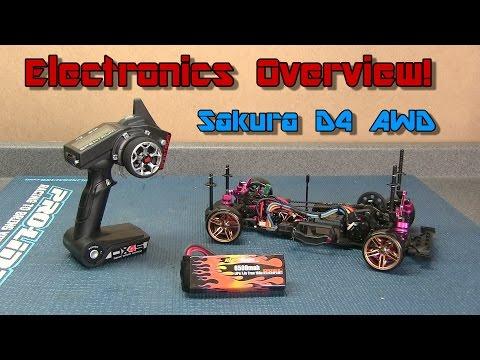 3Racing Sakura D4 AWD Build - Electronics Overview
