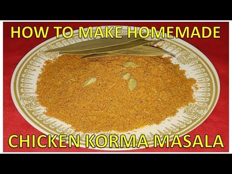 How To Make Homemade Chicken Korma Masala | Recipe | BY FOOD JUNCTION