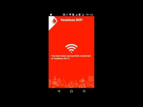 How to connect Vodafone WiFi (Android App)