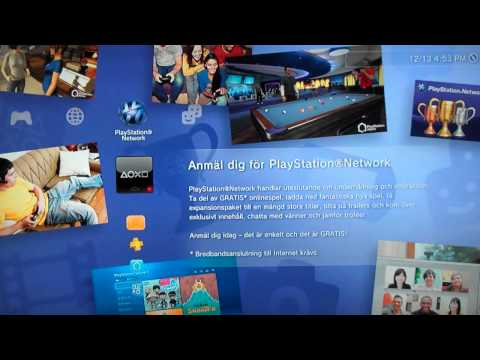 How To Log Into Your Online Account On Someone Else PS3 Or A New PS3
