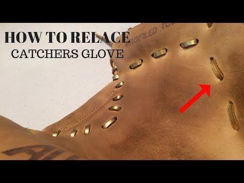 HOW TO RELACE - Catchers Glove Palm