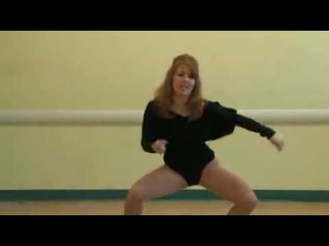 Beyonce's dance moves for Single Ladies tutorial.flv