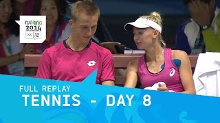 Tennis -  Day 8   Full Replay   Nanjing 2014 Youth Olympic Games