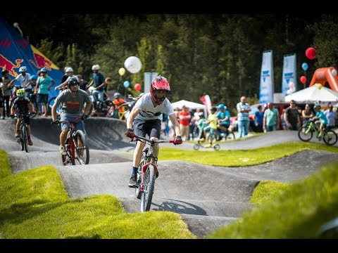Bayerns erster Asphalt Pumptrack | Pumptrack - Rollsportanlage Selb