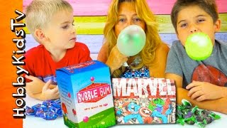 Make Your Own Bubblegum with HobbyMema and the HobbyKids