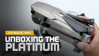Unboxing the DJI Mavic Pro Platinum