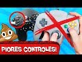 5 PIORES CONTROLES dos VIDEOGAMES! 🕹