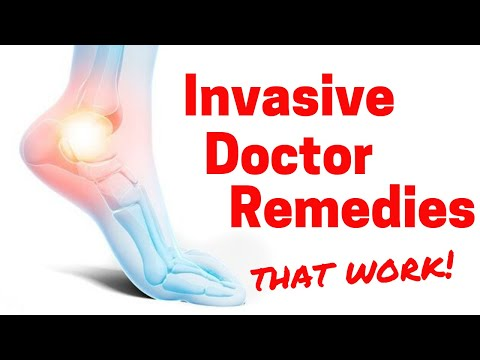 Heel Pain Epidemic Video 9: Invasive Doctor Remedies
