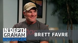Brett Favre On Getting Outrun By Old Ladies At 5k