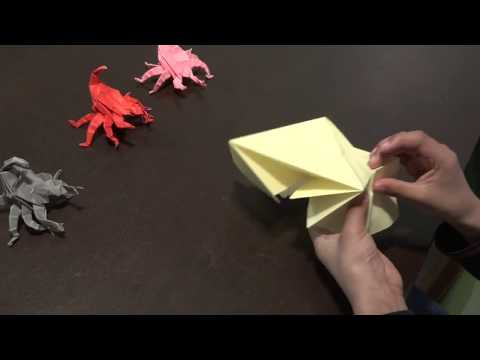 Origami Scorpion Part 2 (Roberto Carlos)