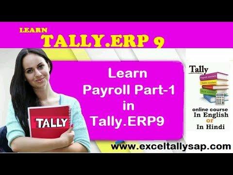 Learn PAYROLL in Tally.ERP9 Part-1