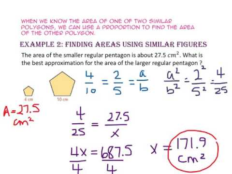 10-4: Perimeters and Areas of Similar Figures