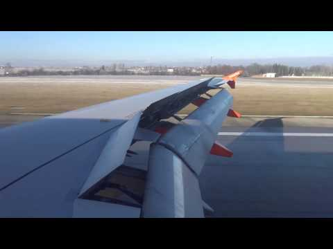 easyJet Flight 7905 - AMS to PRG - Airbus A319 - Arrival (Approach & Landing on Runway 24)