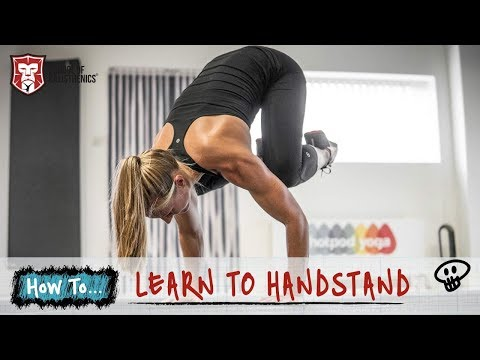 Learn To Handstand   School of Calisthenics