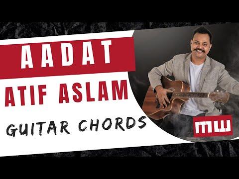 Aadat Guitar Lesson | Guitar Chords | Simple Guitar Lesson (