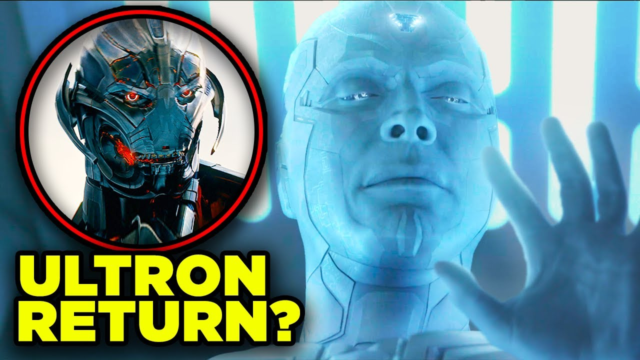ULTRON RETURNING in WandaVision? Avengers vs Ultron Rematch Theory!