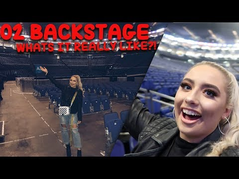WE SAW MICHAEL JACKSONS SECRET ROOM BACKSTAGE AT THE 02!! + Performing at the 02 arena!!!😭