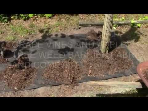 WEED BARRIER FABRIC HOW TO INSTALL II