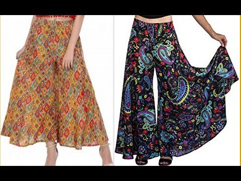 How to make Designer Palazzo pants With Tuk pleats DIY (Hindi version)