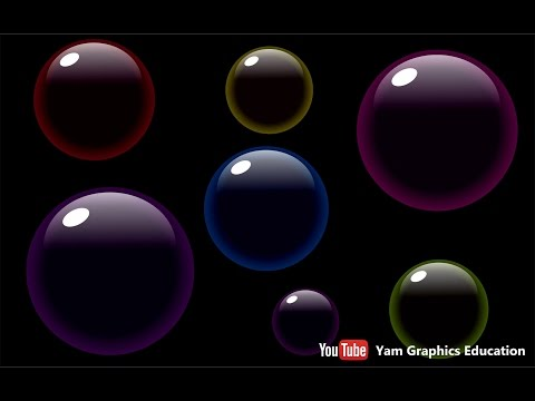 Make bubbles In Coreldraw Tutorial