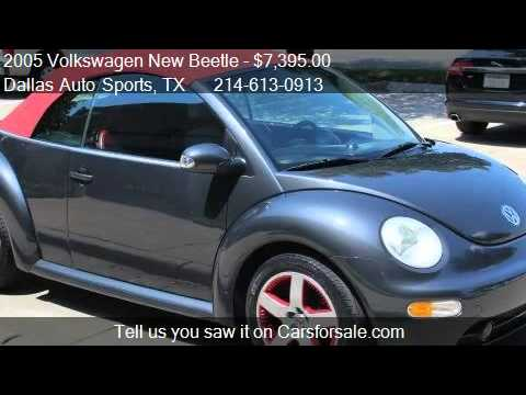 2005 Volkswagen New Beetle GLS 2.0L Convertible - for sale i