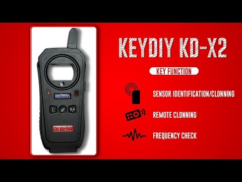 KEYDIY KD-X2  Button Functions Explained