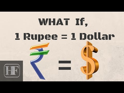 What Happens, if 1 ₹ = 1 $ (Rupee=Dollar)