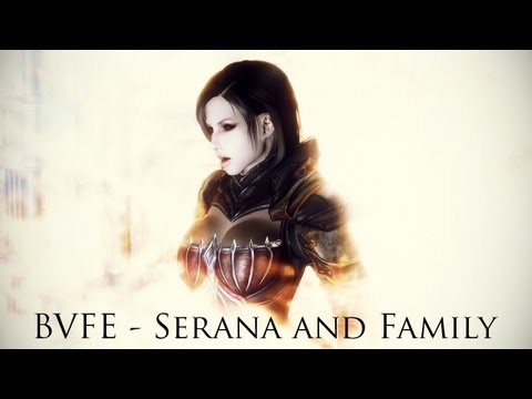 TES V - Skyrim Mods: BVFE - Serana and Family