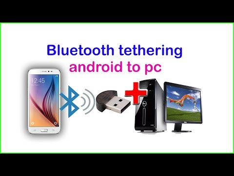 How to use mobile internet on your computer wirelessly by bluetooth