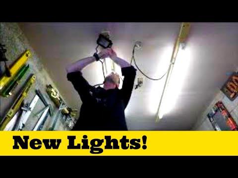 New Workshop Lights