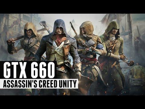Assassin's Creed Unity - i5 3450 + GTX 660 HIGH SETTINGS