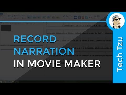 How to Record Voice in Movie Maker