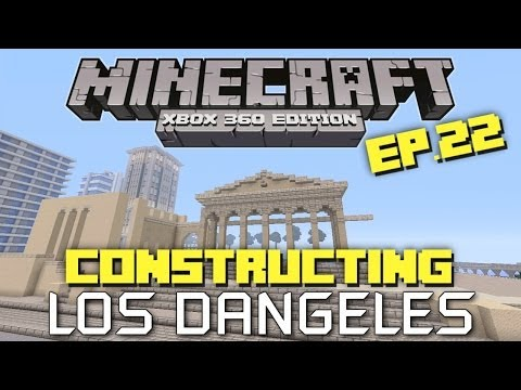 Minecraft Xbox 360: Constructing Los Dangeles - Episode 22! (City Hall!)