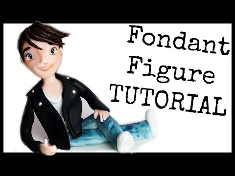 FONDANT FIGURES FOR BEGINNERS PERSON HUMAN TEENAGER | CAKE TOPPER | HOW TO TUTORIAL