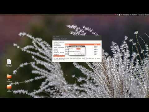 Add custom keyboard shortcut key in Kali Linux/Ubuntu