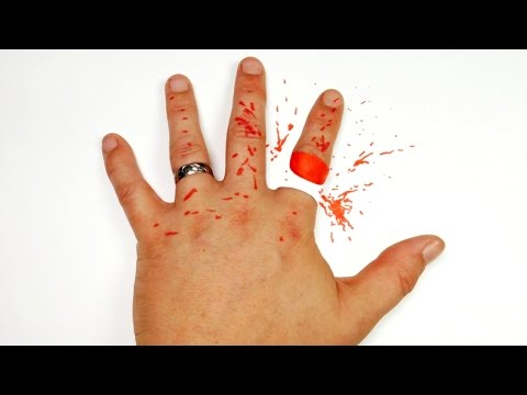 How to Cut Off Finger Trick Art - Easy Optical Illusion