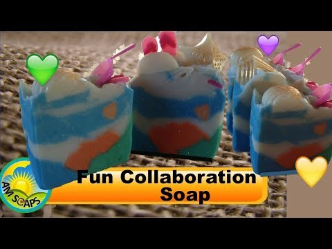 Fun Collaboration Soap