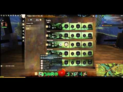 Necromancer Leveling Build (Levels 11- 80) [Guild wars 2]