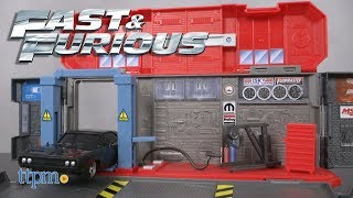 Fast and Furious Dom's Auto Shop from Mattel