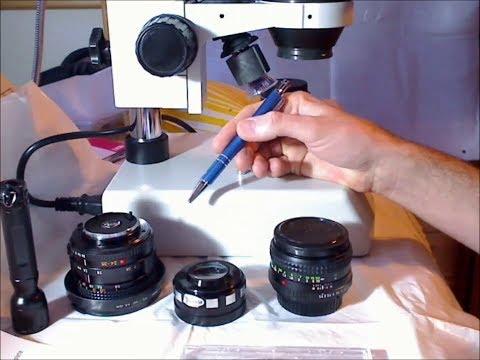Fungus, Haze and Condensation on Optical Lenses (Glaspilz)