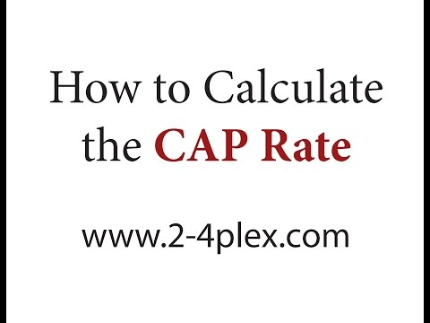 How To Calculate the Cap Rate