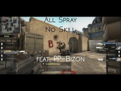 CS: GO All Spray, No Skill feat. PP-Bizon