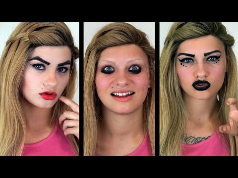 How I Used To Do My Makeup (MIDDLE & HIGHSCHOOL)   HeyThereImShannon